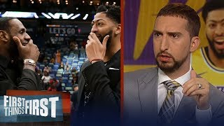 Download Lakers 'have the best duo' after Anthony Davis trade - Nick Wright | NBA | FIRST THINGS FIRST Mp3 and Videos