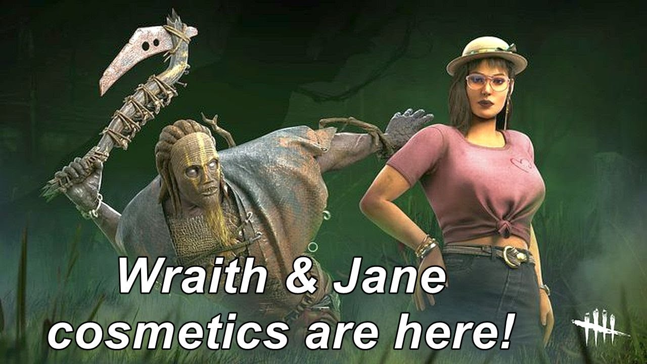Dead By Daylight New Wraith Jane Cosmetics Are Here Youtube