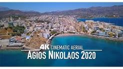 AGIOS NIKOLAOS Drone 4K Άγιος Νικόλαος 2020 Crete