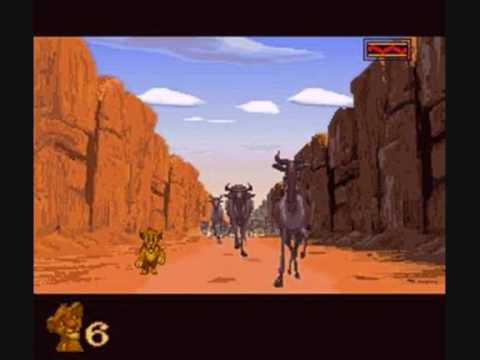 The Lion King Video Game Soundtrack Megadrive Genesis