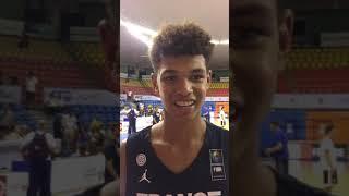 Ousmane Dieng: 2019 FIBA U16 European Championship, A Division Interview