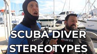 Scuba Diver Stereotypes