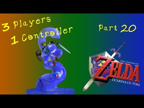 PPG 3 Players 1 Controller Ocarina of Time! Highlights #21 Morpha 2: Well Oiled Machine