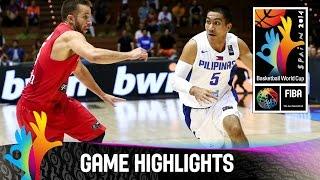 Philippines v Puerto Rico - Game Highlights - Group B - 2014 FIBA Basketball World Cup
