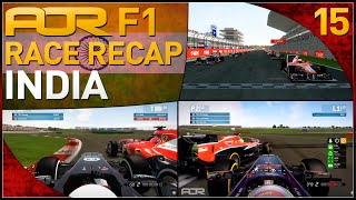 F1 2013 | AOR F1: S8 Round 15 - Indian Grand Prix (Official Race Recap)
