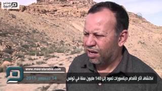 مصر العربية | اكتشاف آثار لأقدام ديناصورات تعود إلى 140 مليون سنة في تونس