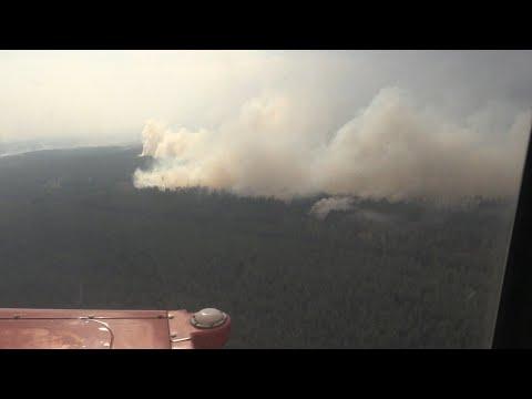 Урядова група на чолі з Сергієм Яровим оглянула місце пожеж у Луганській області