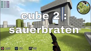 Cube 2 : Sauerbraten Portable - Online Multiplayer Working - Portable Free Game To  Download