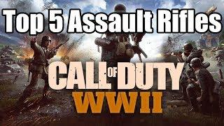 TOP 5 ASSAULT RIFLES in WW2 | Call of Duty: World War 2