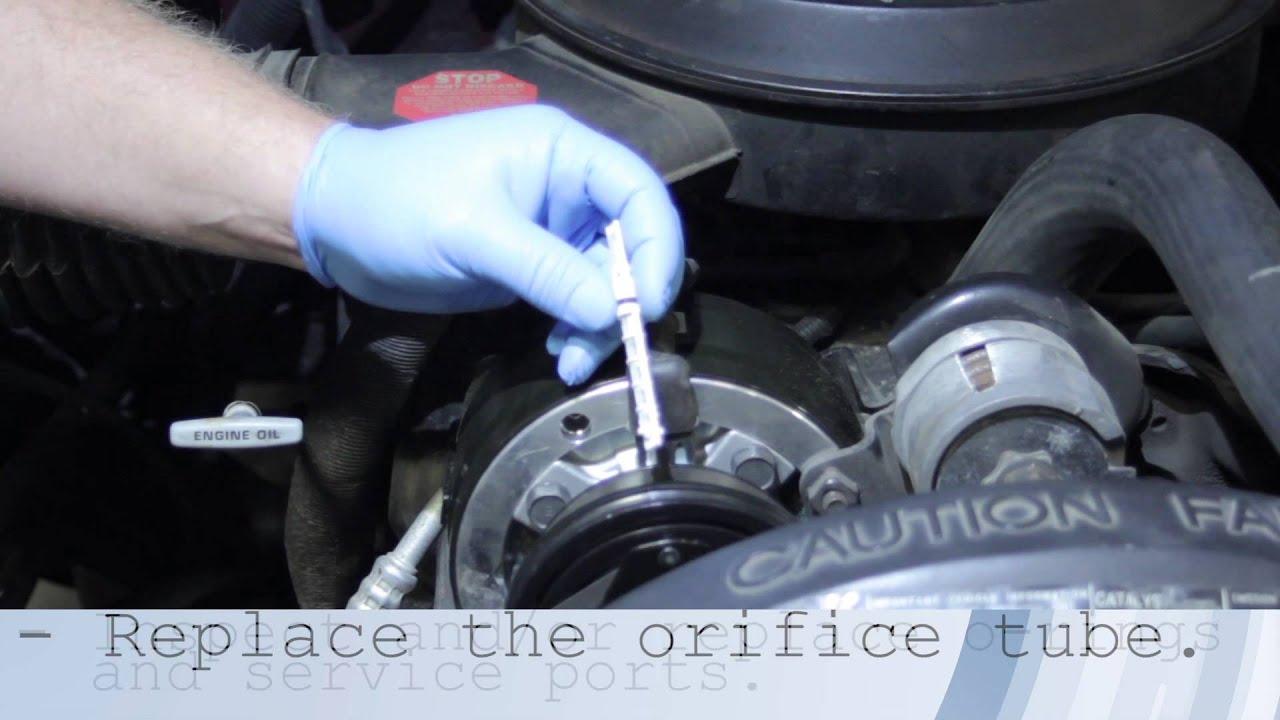 Compressor Installation Quick Tip Youtube 2003 Chevrolet C5500 Wiring System