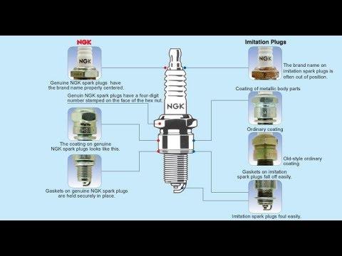 Fake NGK spark plugs