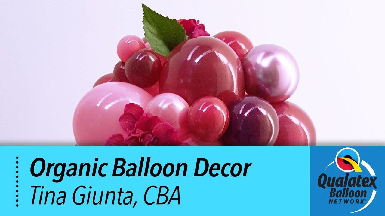 How to Create Structured Organic Balloon Decor - Tina Giunta CBA