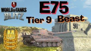 WOT Blitz E75 // The German Machine
