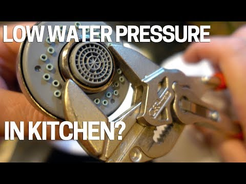 low-water-pressure/flow-kitchen-faucet---easy-fix