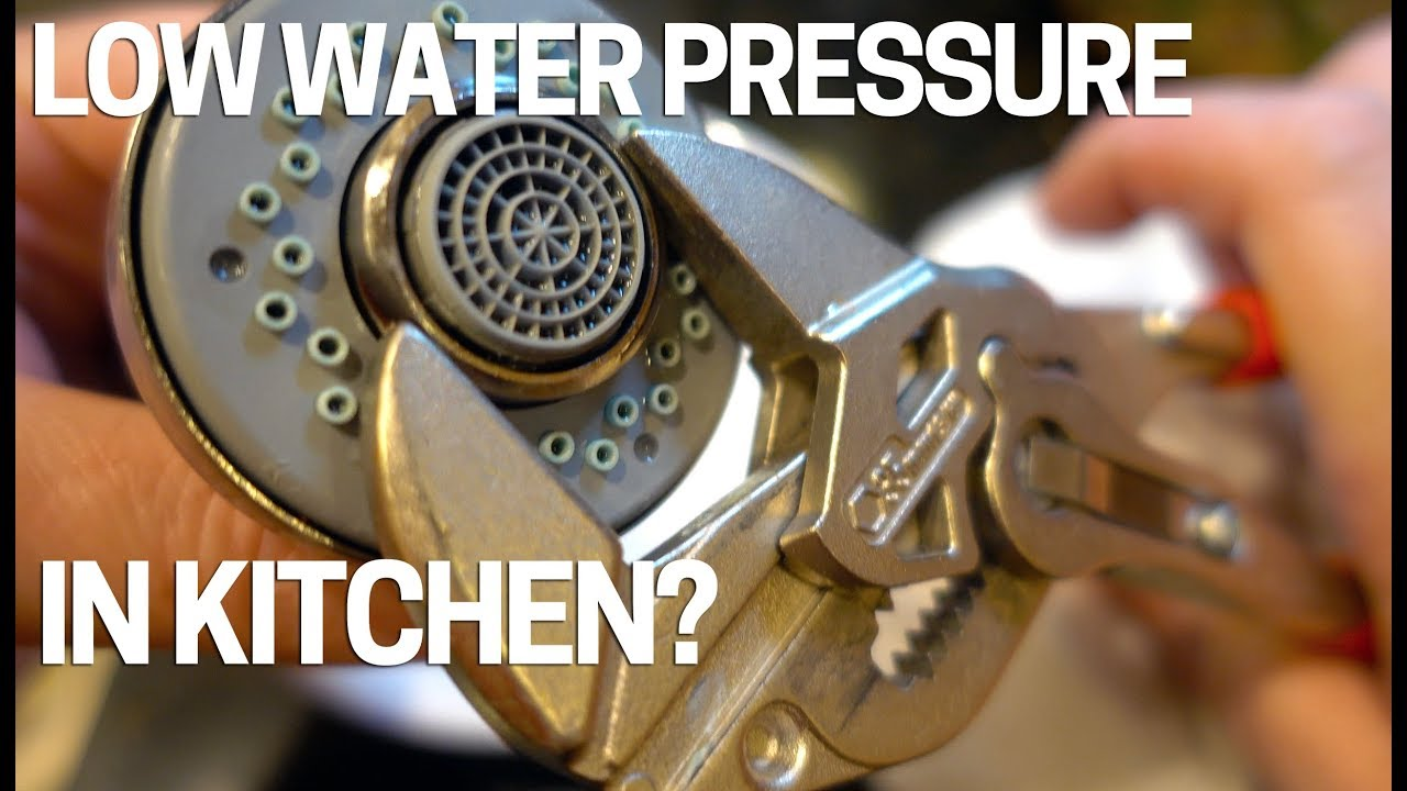 Low Water Pressure/Flow Kitchen Faucet