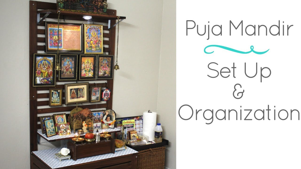 Home Puja Mandir In US- Ikea Hack For DIY Home Temple Set up ...