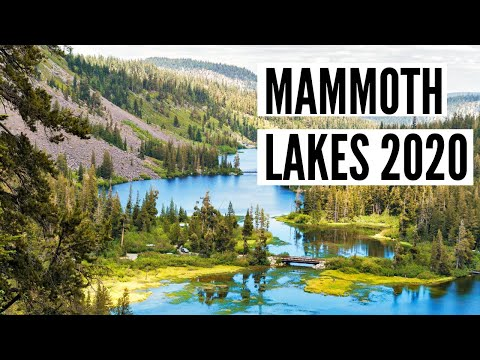 Mammoth Lakes California Travel Guide (Hwy 395 Road Trip Edition)