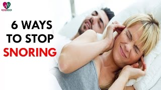 6 Ways to Stop Snoring - Health Sutra