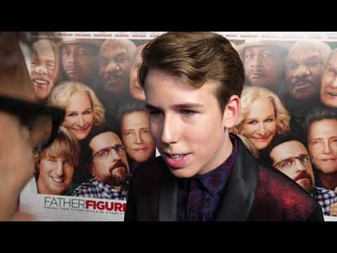 Father Figures LA Red Carpet Premiere Zachary Haven interview