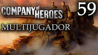 Company of Heroes - 59ª Partida Multijugador [Ruta Nº 13 - 4 vs 4]