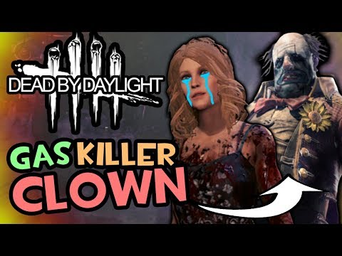 Gas Grenade Clown Killer! (Dead by Daylight - Funny Moments) |
