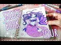 SKETCHBOOK TOUR || My Mossery Sketchbook!
