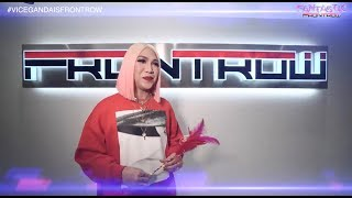 VICE GANDA IS FRONTROW!! 23 QUESTIONS WITH VICE GANDA AT FRONTROW INTERNATIONAL