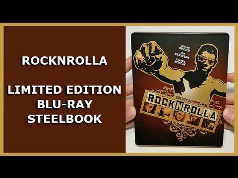 ROCKNROLLA - LIMITED BLU-RAY STEELBOOK UNBOXING - SATURN ...