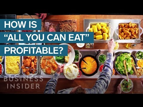 How All You Can Eat Restaurants Make Money Youtube