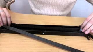 Замена красящей ленты картриджа матричного принтера OKI ML6300(, 2015-04-02T14:32:16.000Z)