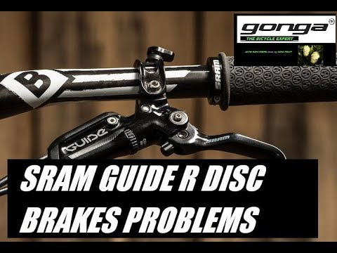 SRAM guide R hydraulic brakes CRONIC problems part 1/2