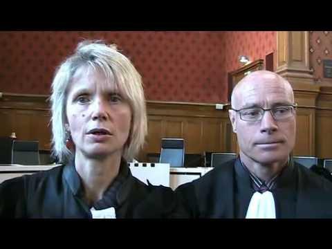 Magistrats en colère à carcassonne, interview de Caroline Duchac et Jean-Hugues desfontaines