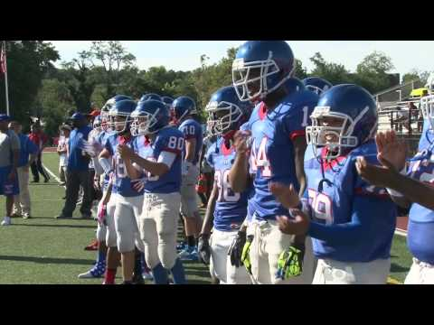 American Girls Join Boys Football Team