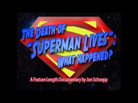 Non-Marvel superhero film month:The Death of Superman lives what happened?