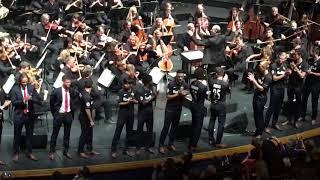 Champions-League-Hymne für den FC Red Bull Salzburg live im Großen Festspielhaus
