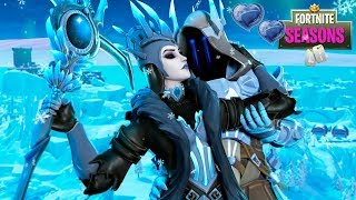 The Ice King has a... GIRLFRIEND!! Fortnite Love Story