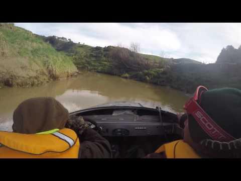Jetboating the Urenui River
