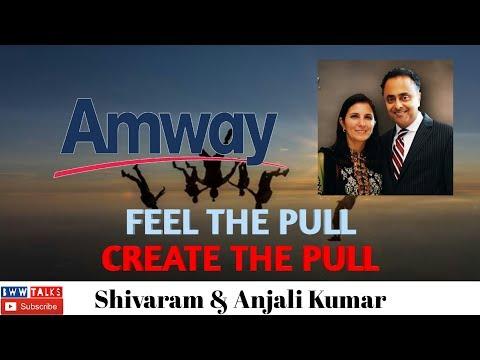 Feel The Pull, Create The Pull by Shivaram & Anjali Kumar   Motivational Speech