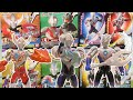 Ultraman Orb toys collection Tiga,Taro,Ultraman,MagaZetton,Alien Mefilas, ウルトラマンオーブ アクション フィギュア