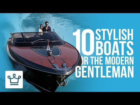 10 Stylish Boats For The Modern Single Man