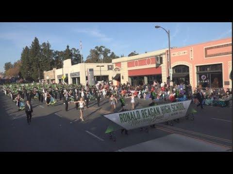 Ronald Reagan High School Marching Band 2018 Pasadena
