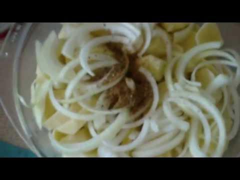 Утка с картофелем, простой рецепт.