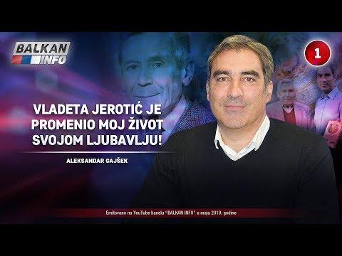INTERVJU: Aleksandar Gajšek - Vladeta Jerotić je promenio moj život svojom ljubavlju! (24.5.2019)