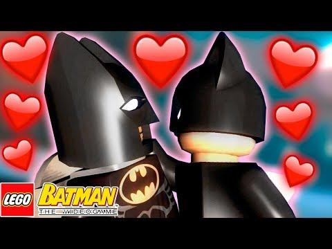 MULHER GATO BEIJOU O BATMAN - LEGO Batman The Videogame #2