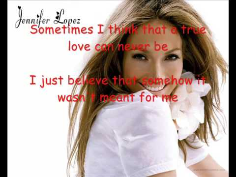 Hope, you aint by funny it jennifer lopez lyric can not
