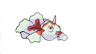 How To Draw Goldeen (POKEMON)