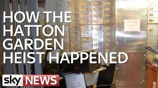 Report: Three Men Convicted Over Hatton Garden Raid