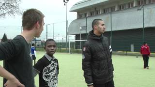 Formation de Jeunes arbitres par le District de Seine-Saint-Denis à Sevran