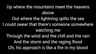 I Need A Hero with Lyrics