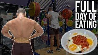 Full Day Of Eating | Tracking Nutrition | Full Body Training